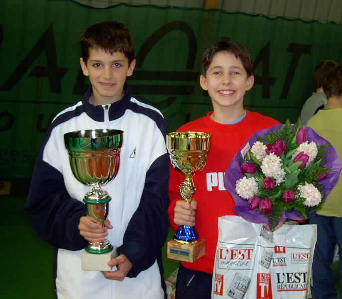 Open Stanislas Nancy avril 2004 avec Nathalie Mohn