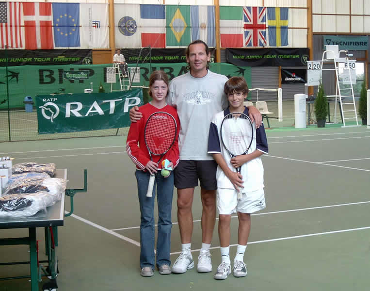 Nike Junior Tour septembre 2004 PH, Jean-Roch et Morgane